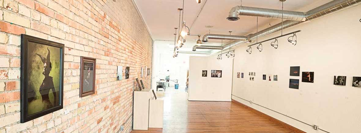 Inside the 515 Gallery
